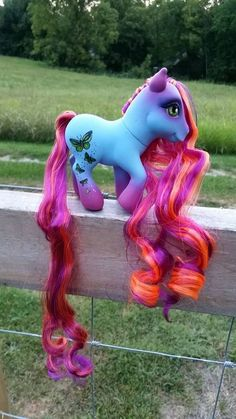 Custom MLP G3 Afternoon Shimmer My Little pony OOAK by ChewsBrains, $50.00
