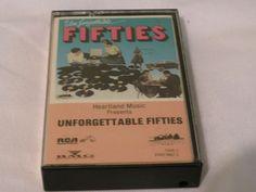 Unforgettable Fifties Tape Two DVK2-0867-2 RARE Cassette Tape Heartland music