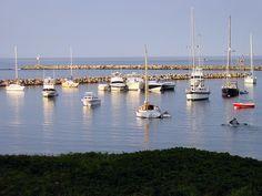 Block Island, Rhode Island Vacations. Looks like a postcard' Yahoo Travel, Narragansett Bay, Best Weekend Getaways, Block Island, 45 Years, Girls Weekend, Best Vacations, Ocean Waves, Staycation