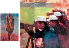 Bernie Fuchs paintings for Sports Illustrated, 1982.