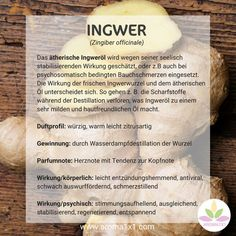 The essential ginger oil is due to its soul-stabilizing effect ge - SkinCare - Health Idea How To Clean Humidifier, Psychological Effects, Flu Like Symptoms, Yoga For Flexibility, Runny Nose, Respiratory System, Abdominal Pain, Nutrition Tips, Aromatherapy