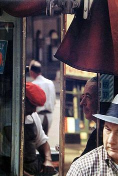 Saul Leiter (Looks like a shot out of an old Varda film.)