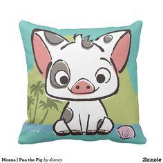 Moana | Pua the Pig. Regalos, Gifts. #cojín #pillow
