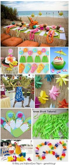 10 Luau party ideas #MGVSplendidSummer