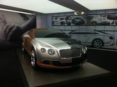 Bentley full size clay model