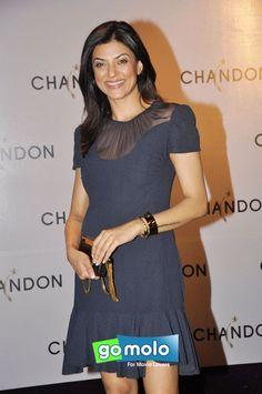 Sushmita Sen at the Launch of Chandon sparkling wine at Hotel Four Seasons in Mumbai