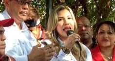 ¡EL QUE HA HIERRO MATA…! Alcaldesa chavista de Calabozo denuncia persecución de Rodríguez Chacín