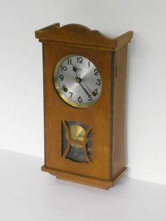 Wall Clock アンティーク昭和レトロ柱時計 Watch Antique ¥8000yen 〆08月23日