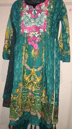 Chiffon Maxi Dress, Shalwar Kameez, Wall Sticker, New Dress, Islamic, All Things, Women's Clothing, Kimono Top, Tops