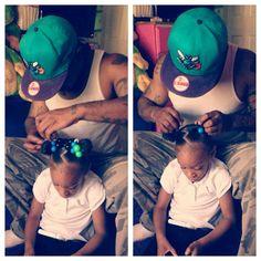 Black Love ... Beautician Daddy