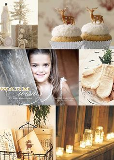 Minted holiday card inspiration-a white winter wonderland, sweet treats by the   fire and sending warm wishes to all!
