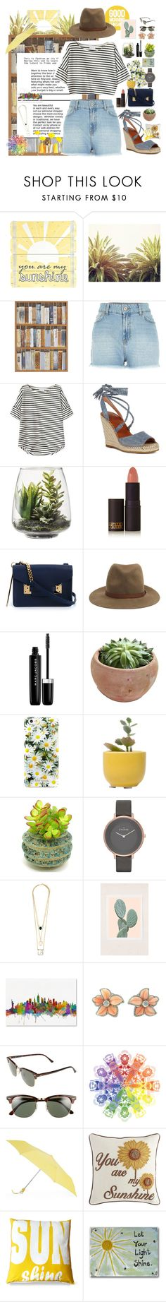 """""""As Long as the Sun Shines"""" by tiffanytma ❤ liked on Polyvore featuring WALL, Pier 1 Imports, River Island, Joie, Threshold, Lipstick Queen, Sophie Hulme, rag & bone, Marc Jacobs and Kate Spade"""