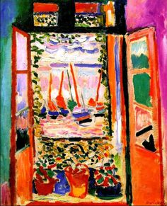 Henri Matisse - The open window (1905)
