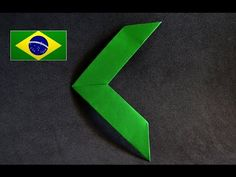 Origami: Brinquedo que Gira / Beyblade / Pião - Instruções em Português PT-BR - YouTube