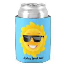 Your Spring Break Personalize Can Cooler