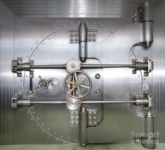 Closed Door To A Bank Vault by Adam Crowley – Finance tips, saving money, budgeting planner Storyboard, Napoleon Solo, Vault Doors, The Adventure Zone, Drum Lessons, Saints Row, The Man From Uncle, Fallout New Vegas, Trigger Happy Havoc