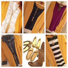 women's cardigans give the ideal piece to effectively connect personal outfit collectively. Mustard Cardigan Outfit, Yellow Cardigan Outfits, Yellow Jacket Outfit, Winter Cardigan Outfit, Mustard Yellow Cardigan, Mustard Skirt, Casual Skirt Outfits, Pretty Outfits, Work Outfits