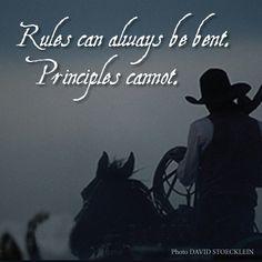 www.cowboyethics.org, Rules, Principles, Cowboys, Cowgirls, Cowboy Ethics