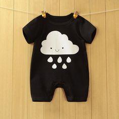 Infant Cloud Print Jumpsuit