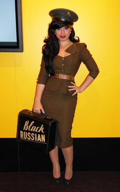 Halloween costumes on Pinterest | Army Costume, Lily Munster and