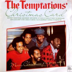 THE TEMPTATIONS - The Temptations' Christmas Card (Hallmark SHM 3202) Vinyl   Music