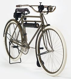 pinterest.com/fra411 #bicycle #vintage - 1918 Harley Bicycle | Shared from http://hikebike.net
