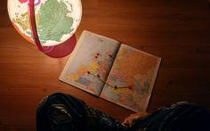 Viciado em viajar e em mapas