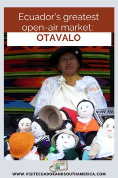 Otavalo is world-famous for it's large open-air market filled with local handicrafts mainly consisting of clothing items. Great bargains can be made even better by negotiation. travel the world trip adventures travel where to travel travel ideas travel places family travel places to travel best travel destinations vacation ideas world best traveling adventure vacations vacation dream adventure destinations best vacations wedding destination ideas honeymoon travel destinations travel… Vacation Wedding Destinations, Best Vacations, Vacation Trips, Vacation Ideas, Ecuador, South America, Latin America, Enjoy Your Vacation, Small Group Tours