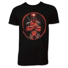 1a7b1a250e3 Deadpool Men's Black Crossed Tee Shirt Deadpool T Shirt, Cheap T Shirts, Tank  Top