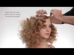 Disco Curls - How To By Kérastase Expert Luigi Murenu - YouTube