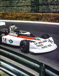 Gilles Villeneuve made his European debut on June 7th, 1976, racing a Project Four (Ron Dennis) March 752 at Pau