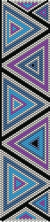 Best DIY Ideas Jewelry: TrinityDj…beautiful peyote pattern bracelet -Read More – Peyote Bracelet, Beaded Bracelet Patterns, Peyote Beading, Jewelry Patterns, Peyote Stitch Patterns, Seed Bead Patterns, Beading Patterns, Crochet Patterns, Diy Sac Pochette