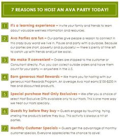Contact me to host your party live or via FaceTime or Skype  www.facebook.com/avabytricia  Triciajpepe@netscape.net