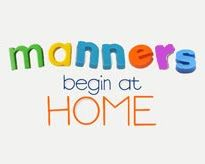 10 Manners kids should be taught!!