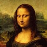 One of the most famous paintings of all time, mona lisa is a masterpiece by leonardo da vinci. this painting is of a woman who is sitting in front of a Giorgio Vasari, Le Sourire De Mona Lisa, La Madone, Mona Lisa Parody, Painting Ceramic Tiles, Most Famous Paintings, Sewing Art, Fabric Sewing, Painting Wallpaper