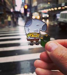 Jacket Pins, Cool Pins, Pin And Patches, Hat Pins, Pin Badges, Spongebob, Lapel Pins, Pin Collection, Creations