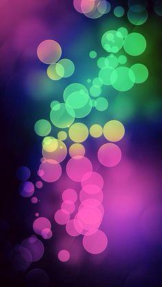 Burbujas colores