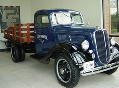 1937 Ford Stake Bed Pickup