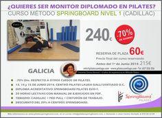 Formación Pilates Springboard Santiago de Compostela