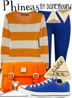 Phineas by DisneyBound. Love that its Astros colors too!