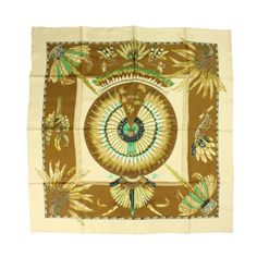 Hermes Silk Scarf: Brazil | From a collection of rare vintage scarves at http://www.1stdibs.com/fashion/accessories/scarves/