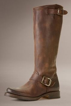 Frye Veronica Slouch Boot in Dark Brown as seen on Vanessa Minnillo Lachey