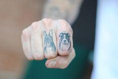 doggies tattoo