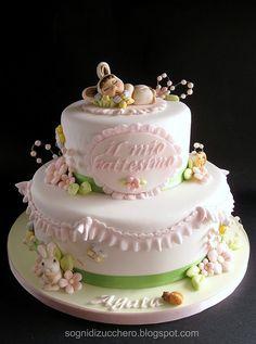 christening cake   Flickr: Intercambio de fotos