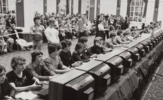 Rare Historical Images That Will Shock You 918 SHARES FacebookTwitter space-invaders  All Hail Atari Participants at Atari's Space Invader Championship in 1980.