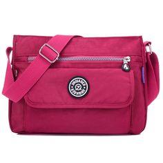 13.81$  Watch now - JINQIAOER Women Messenger Bags Crossbody Bag Nylon Waterproof Shoulder Bag Designer Handbags High Quality Ladies bolsos mujer  #magazine