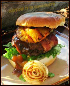 Yummy Recipes: Hawaiian Hamburgers Recipe.. AAAAHHHGGGG  YA SE ME ANTOJO