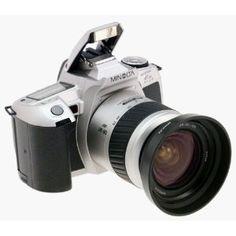 Minolta Maxxum HTsi Plus SLR Camera (Electronics)