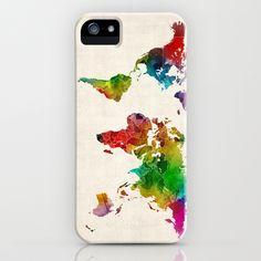 Iphone 6 World Map Case.Iphone 6 Case World