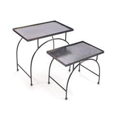 Hip Vintage Smashing Nesting Tables